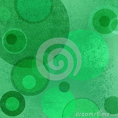 Free Abstract Green Background With Floating Circle And Ring Layers With Grunge Texture Royalty Free Stock Photos - 74025638
