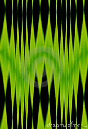 Abstract green & black pattern
