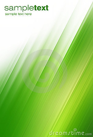 Free Abstract Green Brushstrokes Royalty Free Stock Photography - 10496437