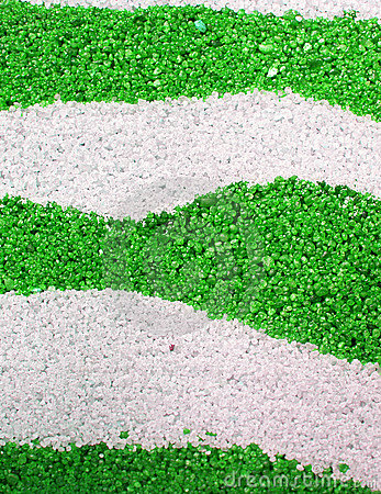 Abstract green sand