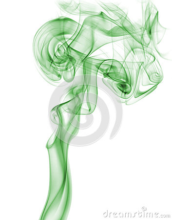 Free Abstract Green Smoke Stock Image - 38971421