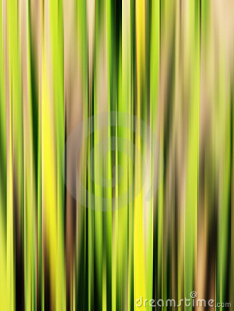 Abstract green streaks