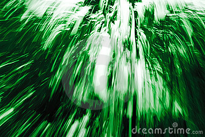 Abstract Green Streaks 91