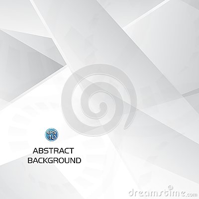 Free Abstract Grey And White Geometric Technology Background With Gear Shape Royalty Free Stock Photography - 109135687