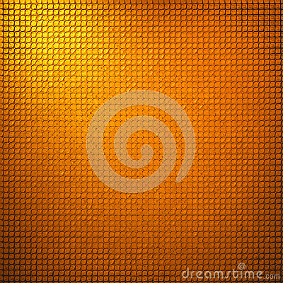 Abstract gold grid background texture design