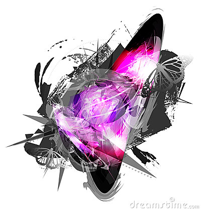 Abstract grunge artwork background