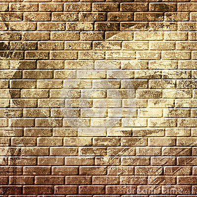 Abstract grunge brick wall
