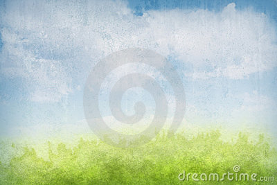 Abstract grunge landscape background