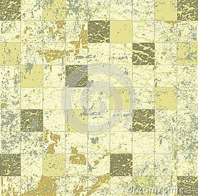Abstract grunge mosaic tiles raster