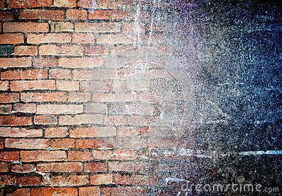 Abstract grunge wall