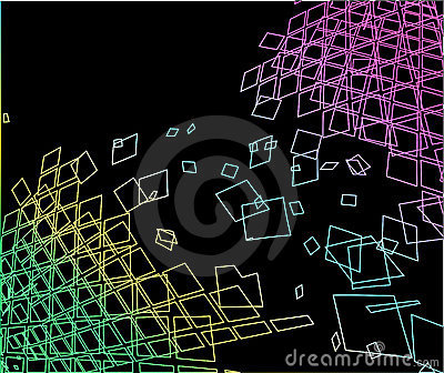 Abstract grungy geometric background