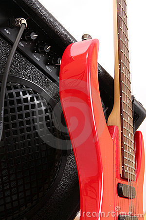 Free Abstract Guitar Music Theme Stock Photos - 10305933