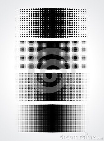 Free Abstract Halftone Dots For Grunge Background Royalty Free Stock Photo - 33923155