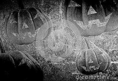 Abstract halloween
