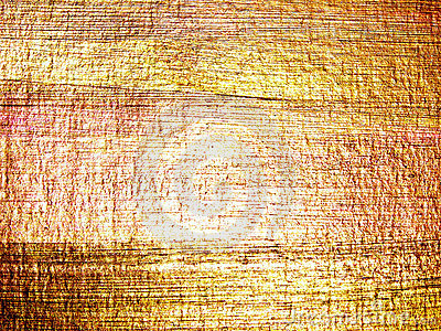 Abstract hand drawn golden background