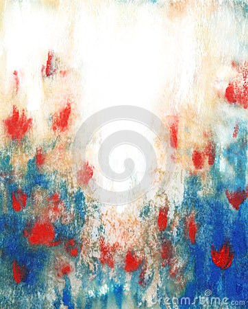 Abstract hand drawn paint background