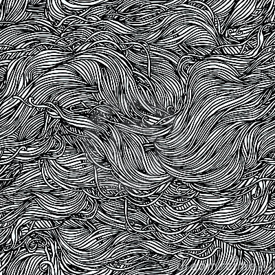 Abstract hand-drawn pattern