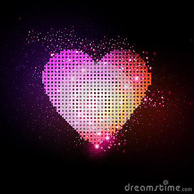 Free Abstract Heart Stock Photography - 35173992