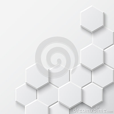 Free Abstract Hexagonal Background Royalty Free Stock Image - 40521116