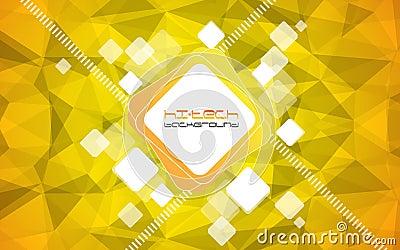 Abstract hi-tech background. Vector