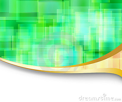 Abstract hi-tech energetic banner