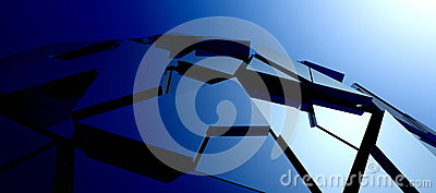 Abstract High-tech Structure Stock Photography - Image: 25269282