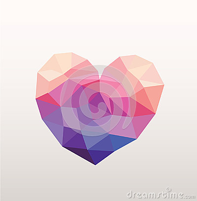 Free Abstract Hipster Heart Stock Image - 36538481