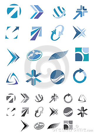 Abstract icons - Pack 1