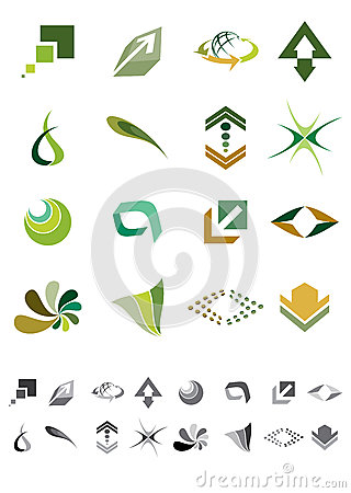 Abstract icons - Pack 2