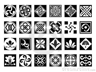 Abstract icons set #9