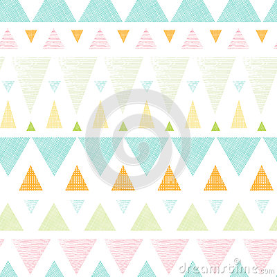 Free Abstract Ikat Triangles Stripes Seamless Pattern Stock Photos - 32211983
