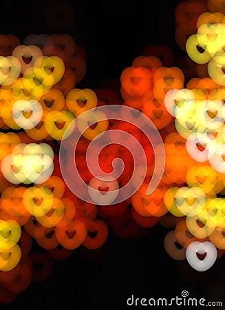 Abstract illumination background