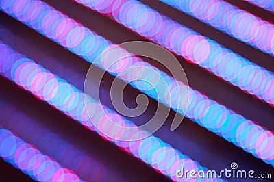 Abstract illumination lines