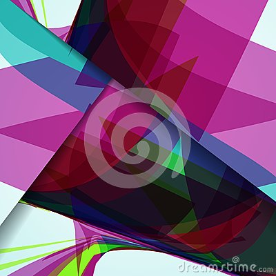 Abstract illustration, colorful composition.