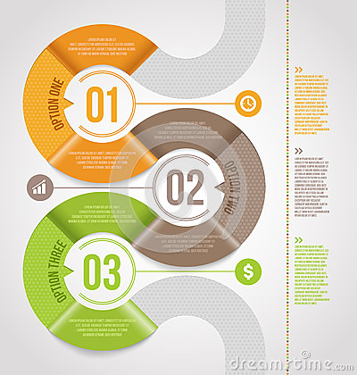 Free Abstract Infographics Template Design Stock Image - 30647611