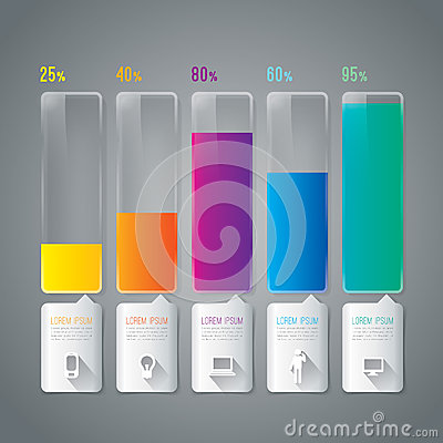 Free Abstract Infographics Template Design. Royalty Free Stock Image - 37238996