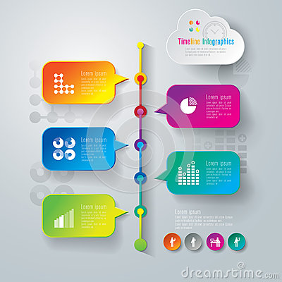 Free Abstract Infographics Template Design. Stock Photo - 37959670