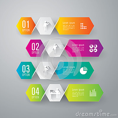 Free Abstract Infographics Template Design. Stock Photos - 38191393