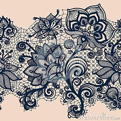 Free Abstract Lace Ribbon Stock Image - 36657041