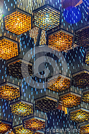 Free Abstract Lamps Royalty Free Stock Photo - 51877125