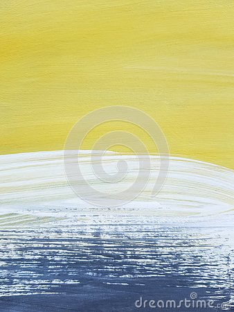 Free Abstract Landscape Art Painting Background. Modern Art. Stock Photos - 144897213