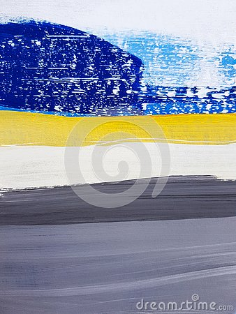 Free Abstract Landscape Art Painting Background. Modern Art. Royalty Free Stock Images - 144897279