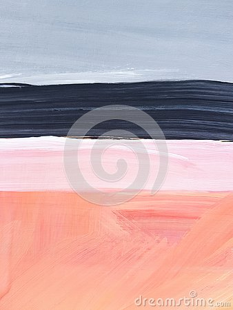 Free Abstract Landscape Art Painting Background. Modern Art. Stock Photography - 144897342