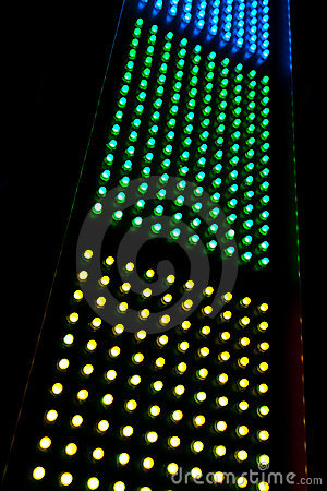 Abstract LED array