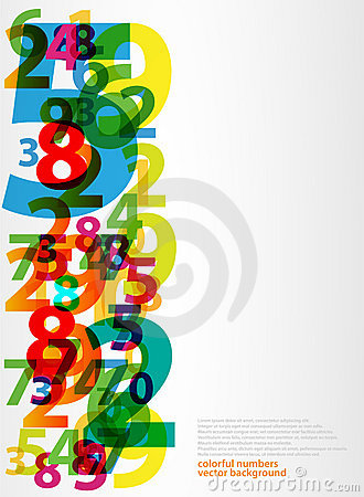 Free Abstract Letters Numbers Stock Photography - 19808362