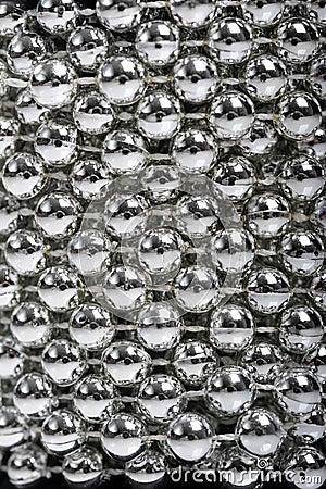Abstract light balls bokeh