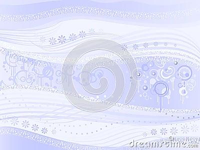 Abstract light blue background aka Strange Music