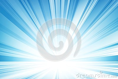 Abstract light blue background, vector and illustration. Vector Illustration