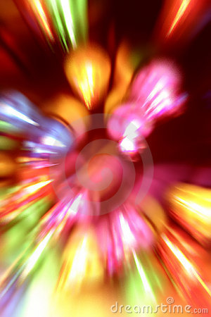 Abstract light blur background