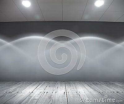 Abstract light interior